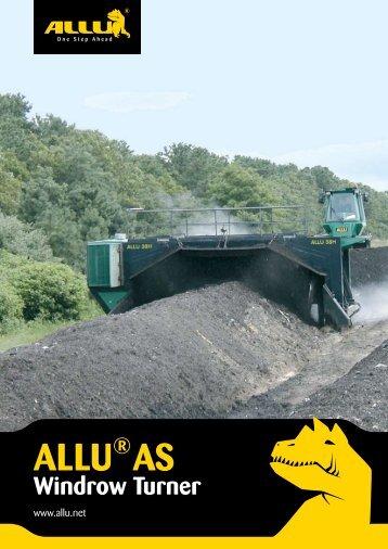 ALLU AS Windrow Turner - Cee-Environmental