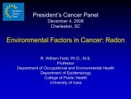 Health Effects of Exposure to Radon - Radon Leaders Saving Lives