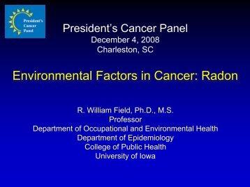 Health Effects of Exposure to Radon - Radon Leaders Saving Lives