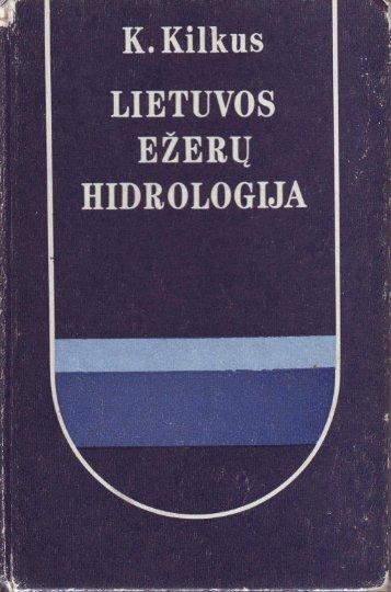 Lietuvos ežerų hidrologija