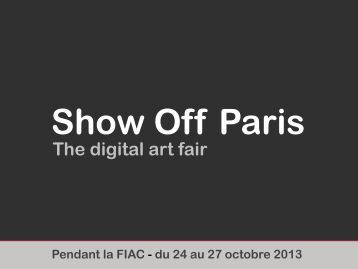 Show Off - The Digital Art Fair - MediaArtDesign.net