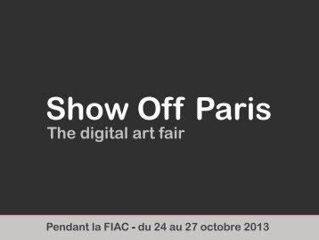 Show Off - The Digital Art Fair - MediaArtDesign.net