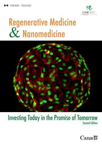 Regenerative Medicine &Nanomedicine - Instituts de recherche en ...