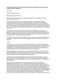 Grußwort von Justizminister Thomas Kutschaty anlässlich des ...