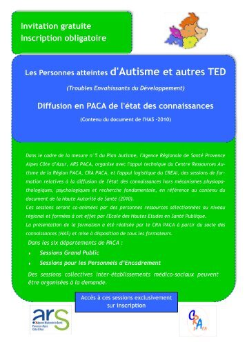 Invitation gratuite Inscription obligatoire Diffusion en ... - ARS Paca
