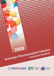 Armenian Pharmaceuticals Investment Handbook - Competitive ...