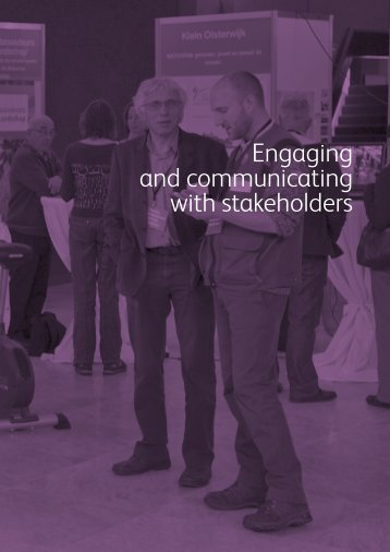 Engaging and communicating with stakeholders - Biodiversity Skills