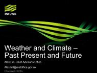 Weather and Climate – Past Present and Future - Transition Black Isle