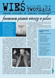 fenomenem pisania wierszy w polsce - Powiat Słupski