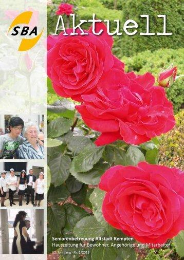 SBA - Seniorenbetreuung Altstadt
