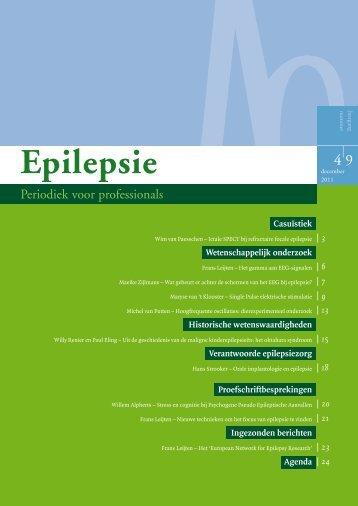Wetenschappelijk onderzoek - Nederlandse Liga tegen Epilepsie