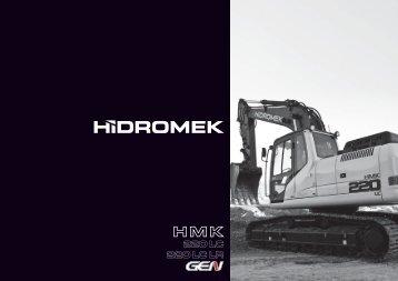 220 LC Gen de la serie - Hidromek
