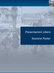 presentazioni libere e sessione poster - AIM Group