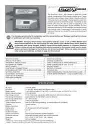 Onyx 230 Manual - Hobbico