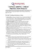 safeguarding / child protection policy - The Queen's School - Page 3