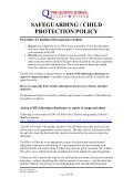 safeguarding / child protection policy - The Queen's School - Page 4
