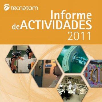 Informe de Actividades 2011 - Tecnatom