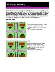 Information om regler för häckar och träd som - Grästorps kommun