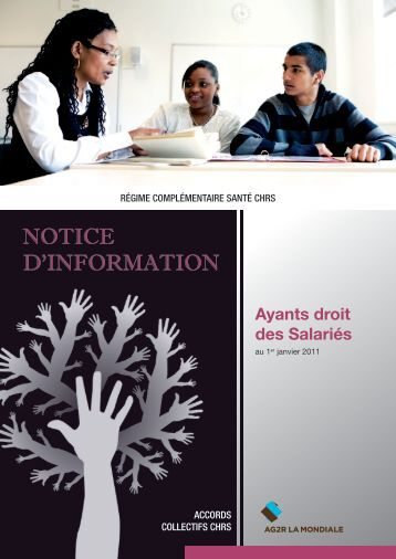 Téléchargez la notice d'information pour les ayants droits des ... - Ag2r