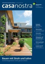 Bauen mit Stroh und Lehm - Hausverein