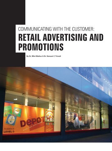 RETAIL ADVERTISING AND PROMOTIONS - Only Downloads