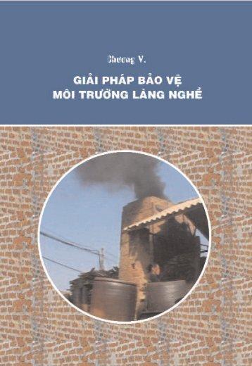 Chương 5: Giải pháp bảo vệ môi trường làng nghề