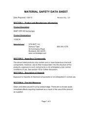 1539CW MSDS.pdf - Venture Tape