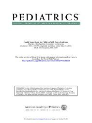 DOI: 10.1542/peds.2011-1605 ; originally published online July 25 ...