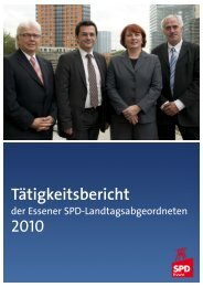 Tätigkeitsbericht Essener MdLs 2010 SIE.pmd - Kutschaty, Thomas