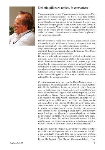 Testo - Centro documentazione Pistoia