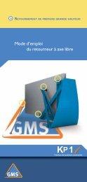 GMS Retourneur Axe libre - KP1