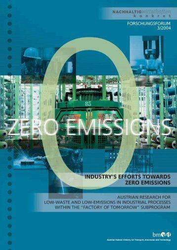 industry's efforts towards zero emissions - NachhaltigWirtschaften.at