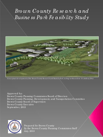 Brown County Research and Business Park Feasibility Study