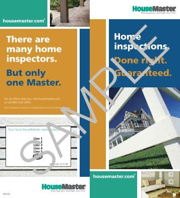 The HouseMaster Home Inspection