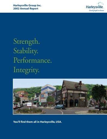 Harleysville 2002.editorial - Harleysville Insurance