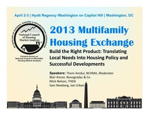 April 2-3   Hyatt Regency Washington on Capitol Hill   Washington, DC
