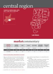 Market Commentary - Toronto Real Estate Board