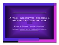A Task Interrupted Becomes a Prospective Memory Task