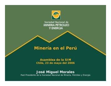 Mineria en Peru