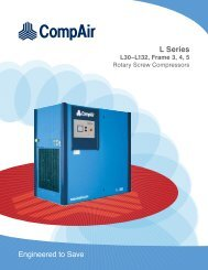 L30-L132 Series (40-150HP) PDF Brochure - Compressed Air ...