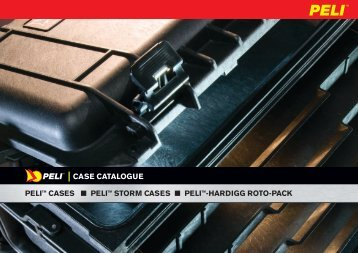 Peli Cases Data Sheet PDF - in-visible.lu