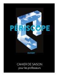 cahier de saison 2010-2011 - Théâtre Périscope