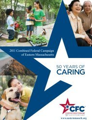 CFC - Combined Federal Campaign of Eastern Massachusetts
