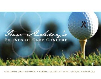 Dan Ashley's - Friends of Camp Concord