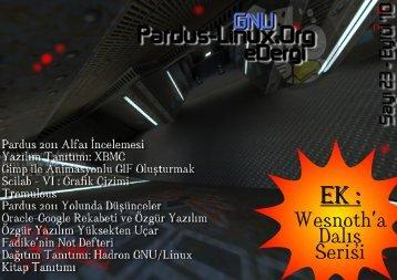 İndirmek İçin Tıklayın - Pardus-eDergi.org