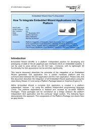 HowTo 005: Platform Integration - Embedded Wizard