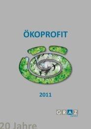 ÖKOPROFIT-Auszeichnung 2011 - Ökostadt Graz