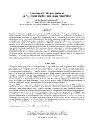 Convergence rate improvement in NMI-based multi ... - isl, ee, kaist
