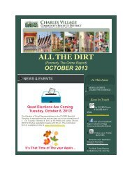 ALL THE DIRT - Charles Village Community Benefits District