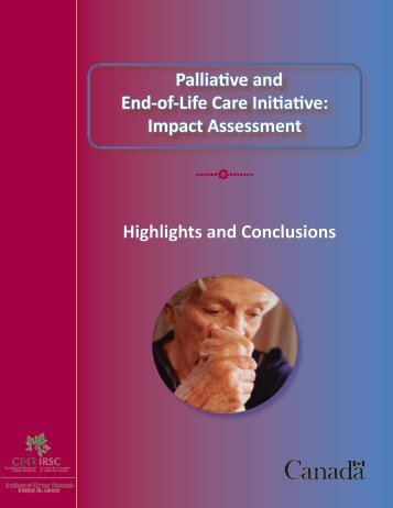 Palliative and End-of-Life Care Initiative: Impact Assessment ...